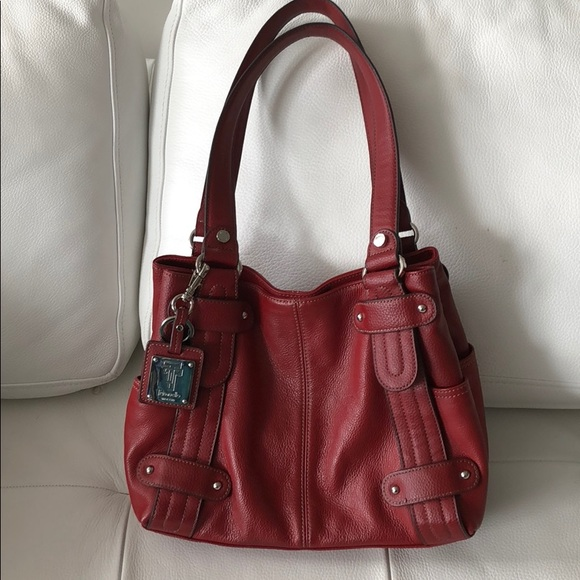 Tignanello Handbags - Tignanello since 1989 red handbag